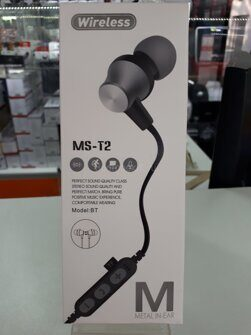 Гарнитура Bluetooth MS-T2BT