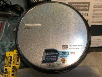 CD/MP3 плеер Panasonic SL CT-810